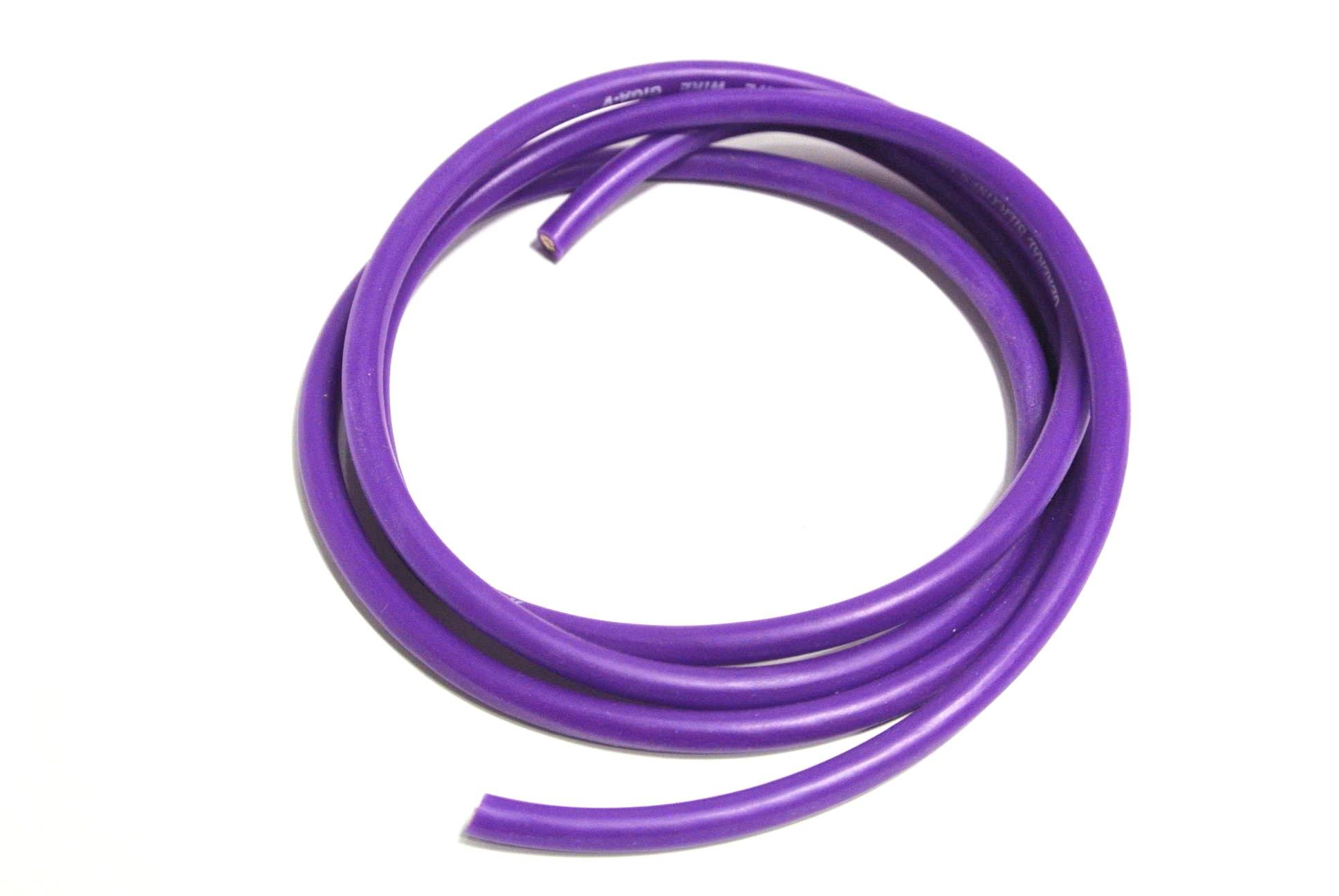 Purple 12awg Silicone Wire 3 feet (3′) - Rotor Ron