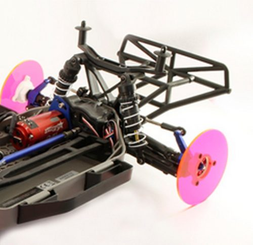 720Spin 1/10 Short Course - Stadium Truck Chassis Front Toe