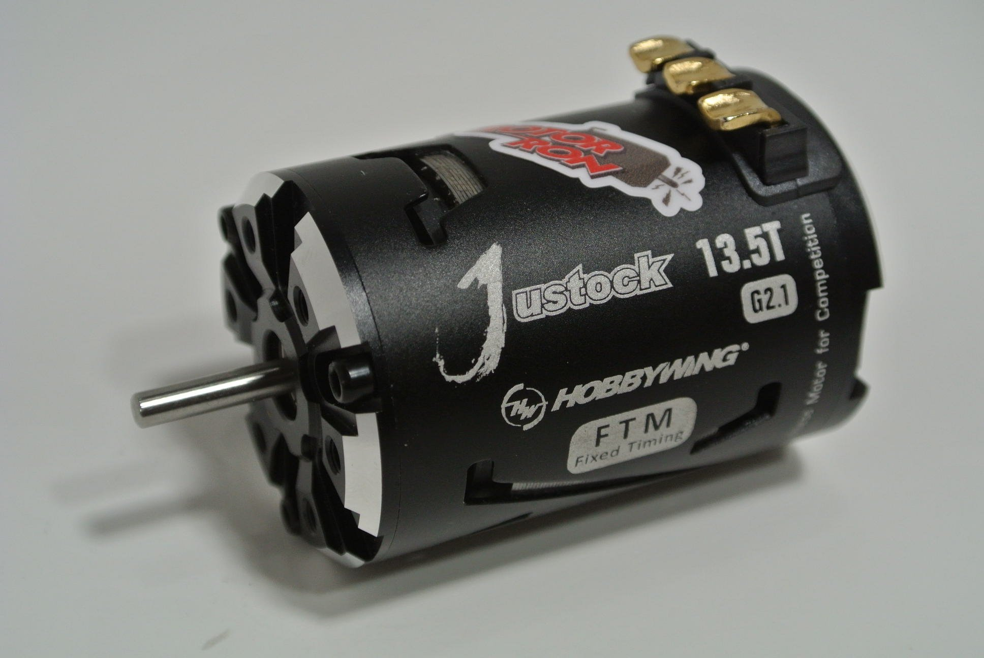 Top 10% Hobbywing Justock 13 5 turn 3650 G2 1 Dyno Tested Brushless Motor