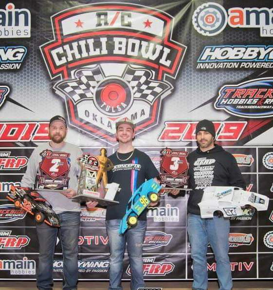 2nd Place at The RC Chili Bowl with a borrowed motor! - Rotor Ron