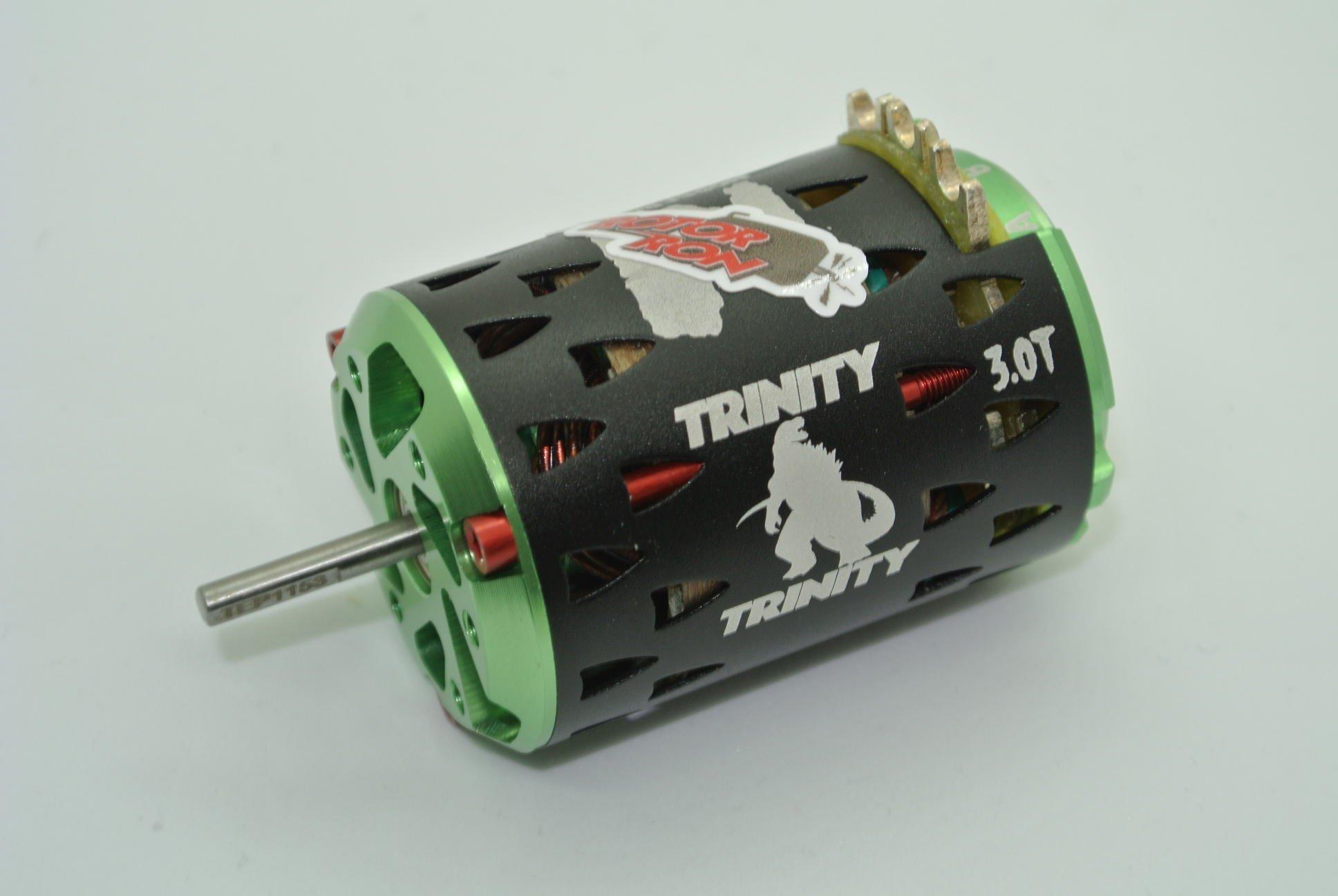 Trinity monster max 3 0 turn upgraded tuned mod drag racing brushless motor
