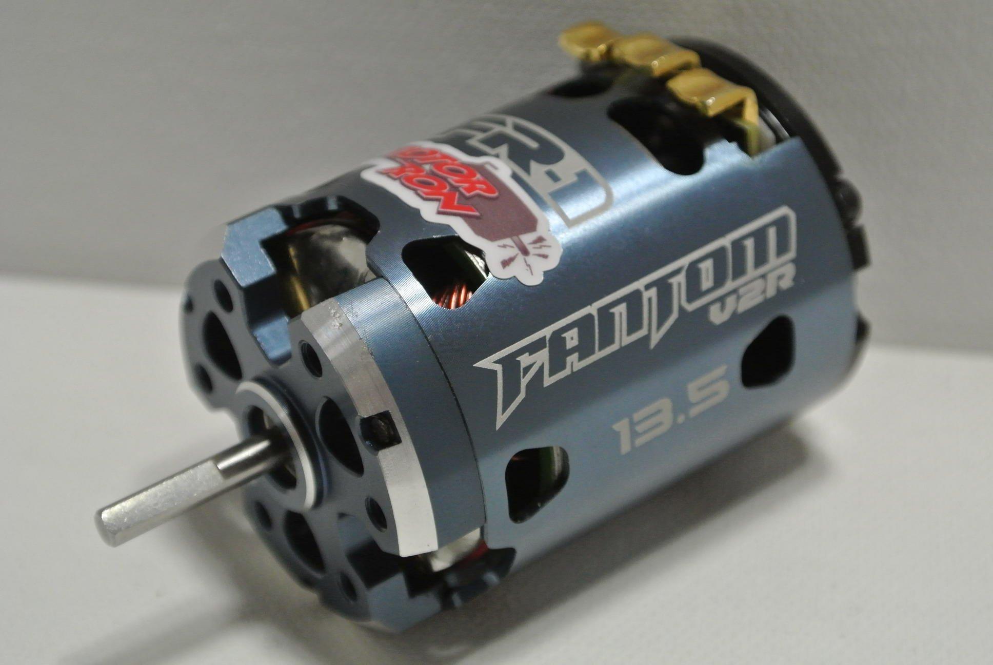 Fantom V2r 13 5 Works Plus Dyno Tuned Brushless Motor